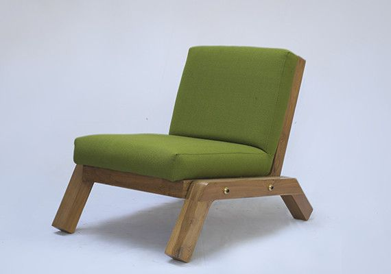 Lounge 2.5 is a chic lounge chair made exclusively out of reclaimed teak. The chair's 'blocky' design , minimal exposed structure and its subtle details forms its core aesthetics.  The chair is available in different upholstery options