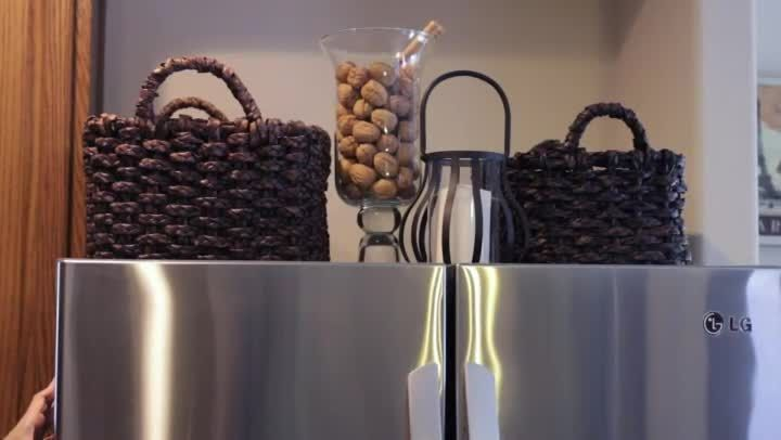In a lot of homes on top of the fridge is either a bunch of wasted space or it's cluttered full of cereal boxes. Decorate the top of the fridge for storage with help from an expert with more than 15...