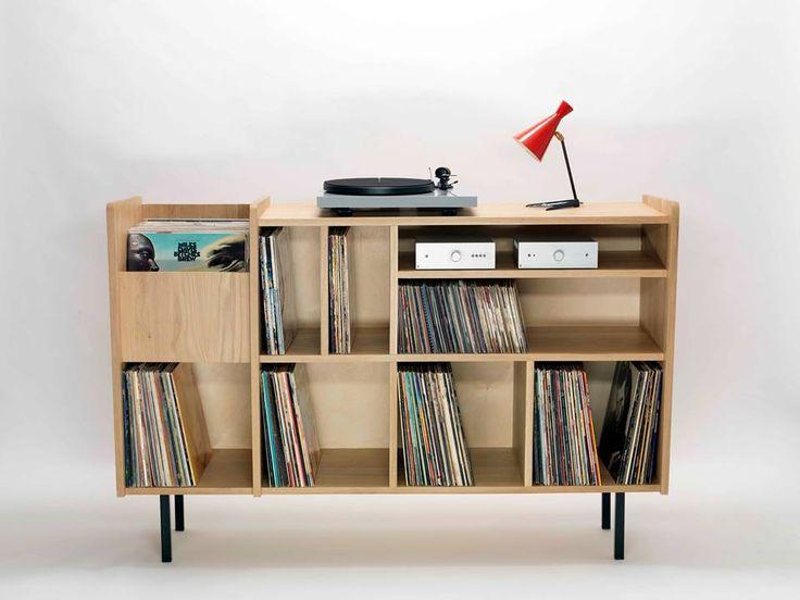 Meuble hi-fi vinyle                                                                                                                                                                                 Plus
