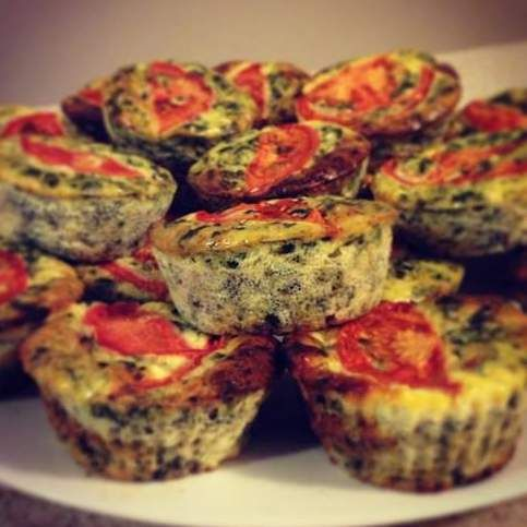 Recipe High Protein Muffin Quiches by Skinnymixer - Recipe of category Baking - savoury