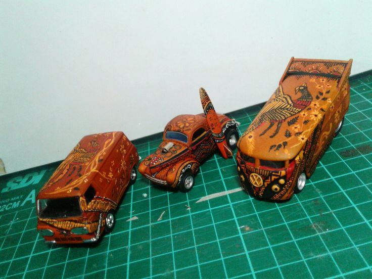 Batik Handpainting . 1/64 scale