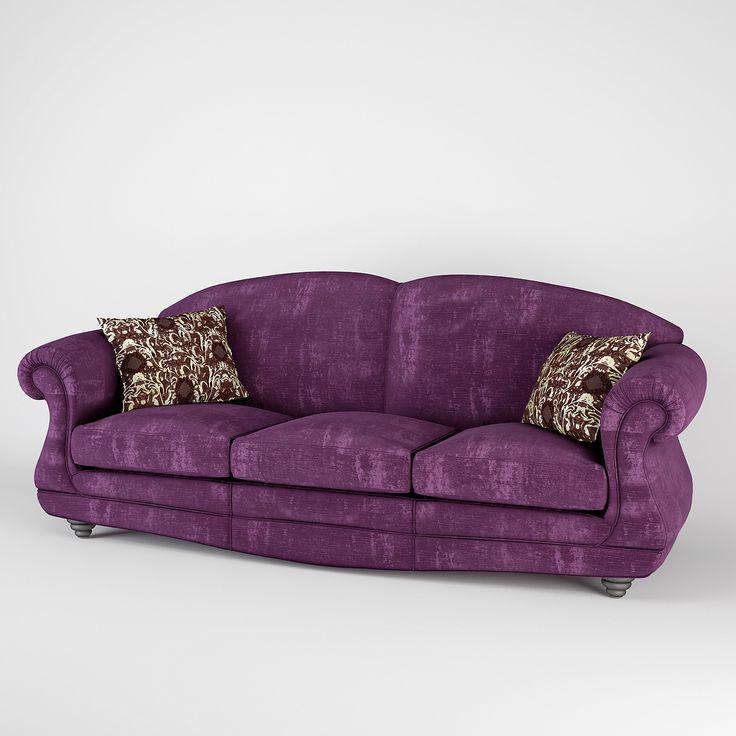 Zanaboni Oxford Sofa 3D Model   3D Model