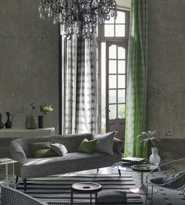 Interior Trends, Obsessed With Ombre | Savine Fabric by Designers Guild | Jane Clayton