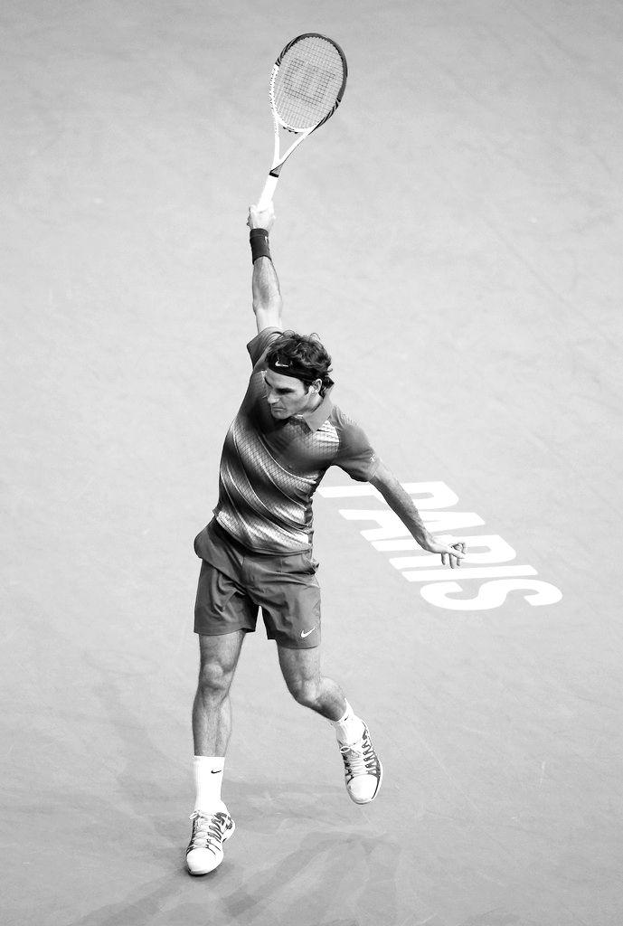 Roger Federer - Paris 2013