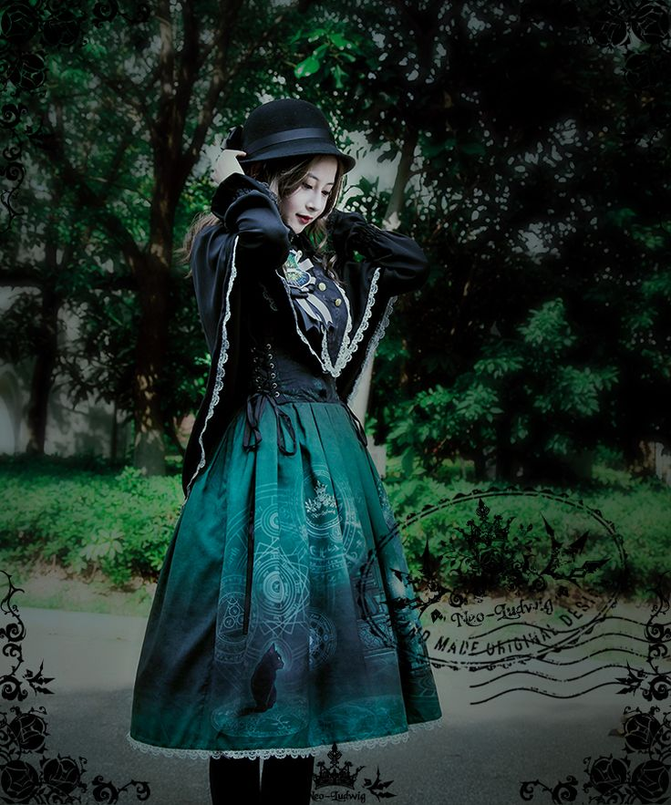 fanplusfriend - The Sacred Academy of Alexandria, Elegant Gothic Lolita Academic Scholastic Stand Collar Frilly Cape*4colors Instant Shipping, $62.15 (http://www.fanplusfriend.com/the-sacred-academy-of-alexandria-elegant-gothic-lolita-academic-scholastic-stand-collar-frilly-cape-4colors-instant-shipping/)