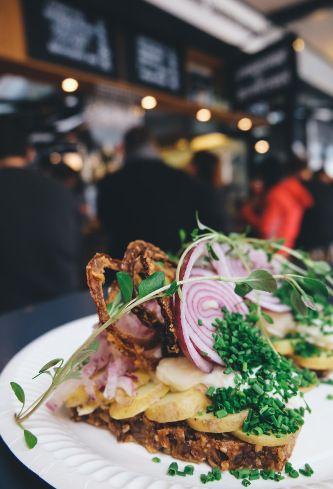 Les smørrebrød d'Hallernes Smørrebrød à la Tovernhallerne <3 #food #copenhague