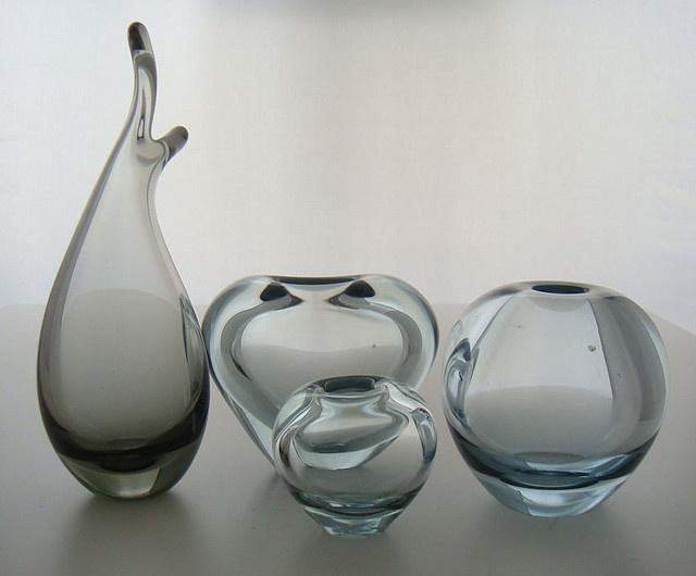 Holmegaard glass vases - by Per Lütken by DesignerDeals, via Flickr