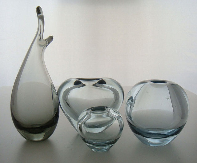 Holmegaard glass vases - by Per Lütken by DesignerDeals, via Flickr