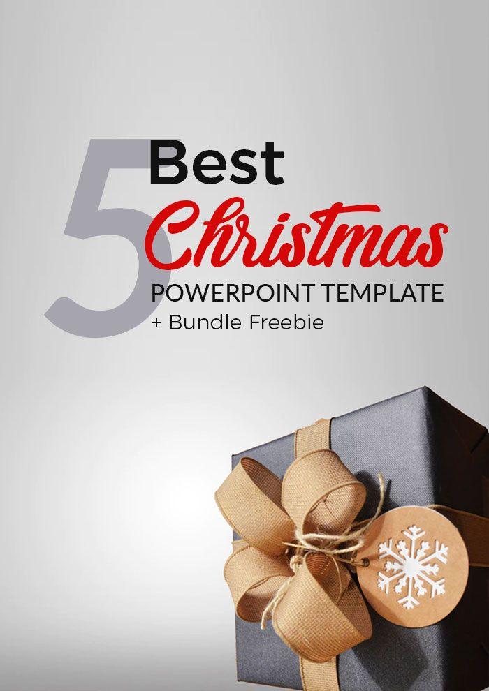 25+ ide Christmas powerpoint template unik di Pinterest Poster - christmas powerpoint template