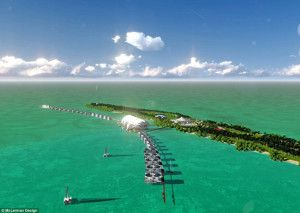 The Wolf of Wall Street rocks. Leonardo DiCaprio is building the world's greenest island resort, in Belize.