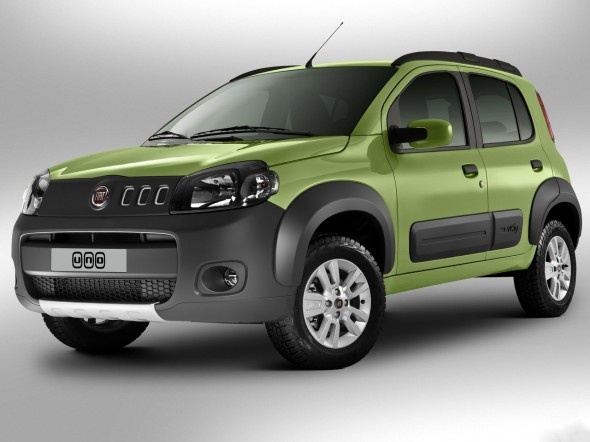 Fiat Uno 2011 model