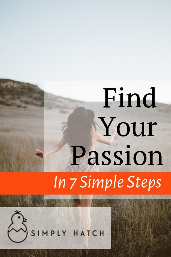 How To Find Your Passion In 7 Simple Steps Passion Business Quotes Funny Finding Yourself