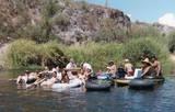 Salt River tubing ~ an Arizona tradition. So much fun!