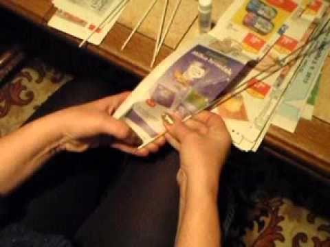 motání ruliček v ruce - YouTube