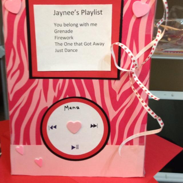 ipod valentine box - How To Make Valentine Boxes