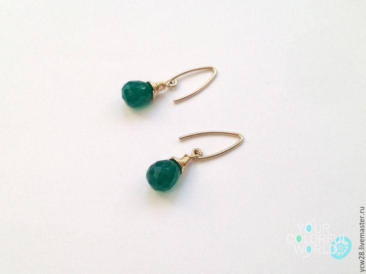 Купить Омут / серьги // Whirlpool / earrings - украшения ручной работы