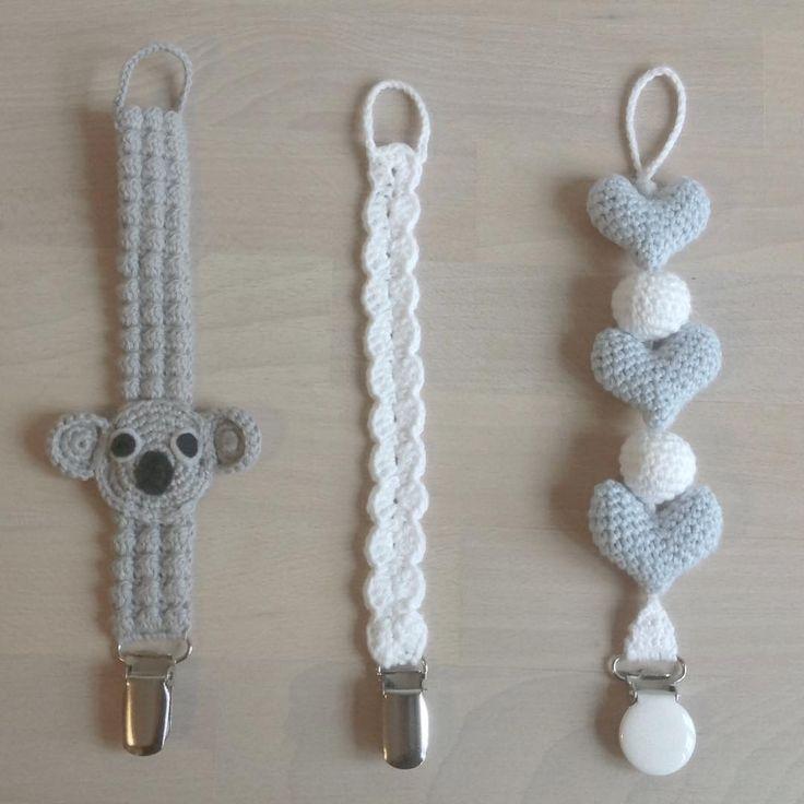"""420 synes godt om, 26 kommentarer – @mormorshaekleliv på Instagram: """"Flere suttekæder☺ #hækle #hæklet #hækling #crochet #crochetaddict #crocheting #virkning #amigurumi…"""""""