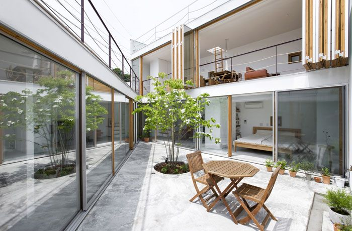 Takeshi Hosaka Architects - 屋内と屋外の家