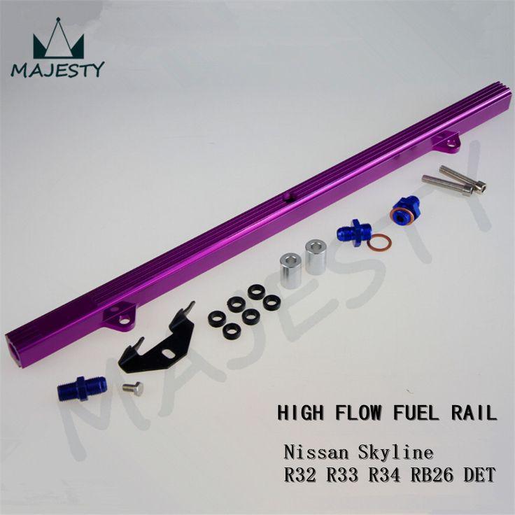 Заготовка высокий расход топлива рампа для SKYLINE R32 R33 R34 GTR RB26DETT RB26 фиолетовый