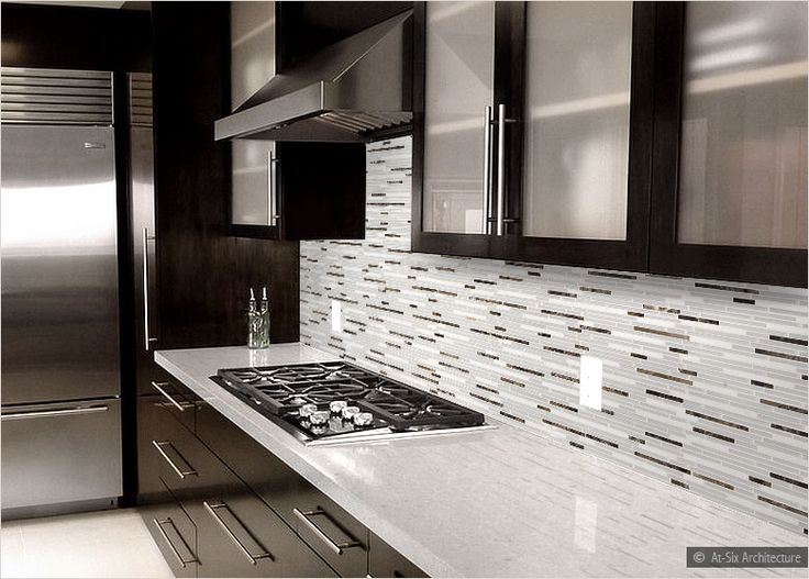 Modern Kitchen Backsplash Dark Cabinets best 10+ dark cabinets white backsplash ideas on pinterest | white