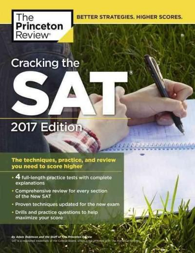 SUCCEED ON THE SAT WITH THE PRINCETON REVIEW! With 6 full-length practice tests, content reviews for all sections of the test, and techniques for scoring success, this Premium Edition of Cracking the