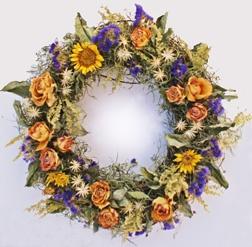 Dried flowers WreathDryflower