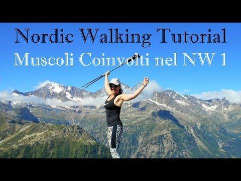 ALLENAMENTI NORDIC WALKING PER DIMAGRIRE 1 E 2 SETTIMANA - YouTube