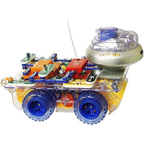 Snap Circuits Deluxe R C Rover Electronics Discovery Kit Learning Toy Kids Gift  #SnapCircuits