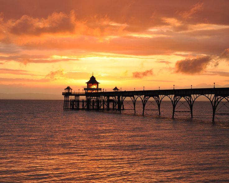 Clevedon Pier by Steve Clarkson