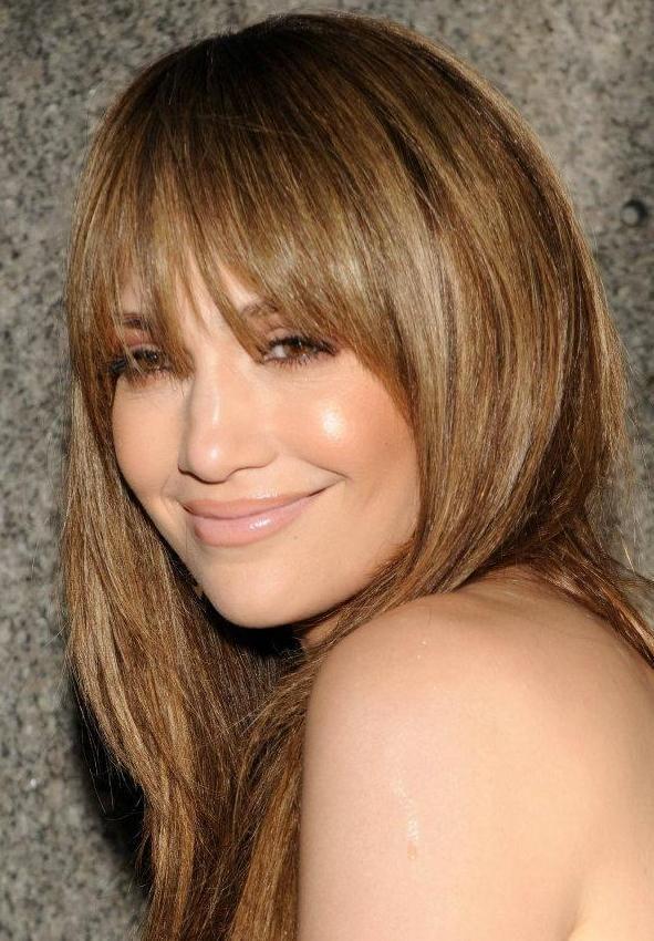blonde highlights look best on medium brown hair warm honey blonde ...
