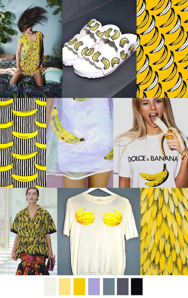 GO BANANAS trends in fashion pattern curator. For more ...