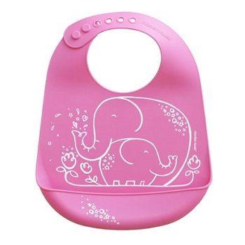 Elephant Hugs Bib Pink $39.95 #sweetcreations #baby #toddlers #kids #feeding #feedme