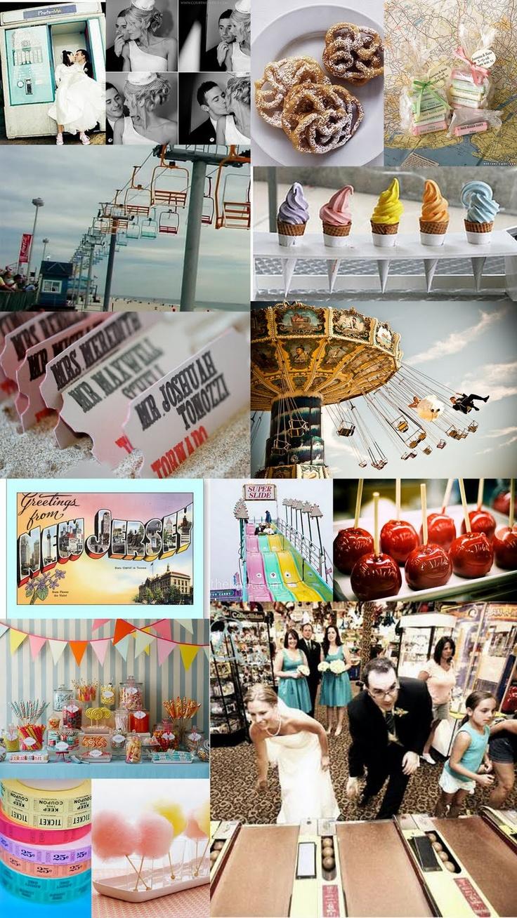 Boardwalk theme inspirations #boardwalk #eventideas