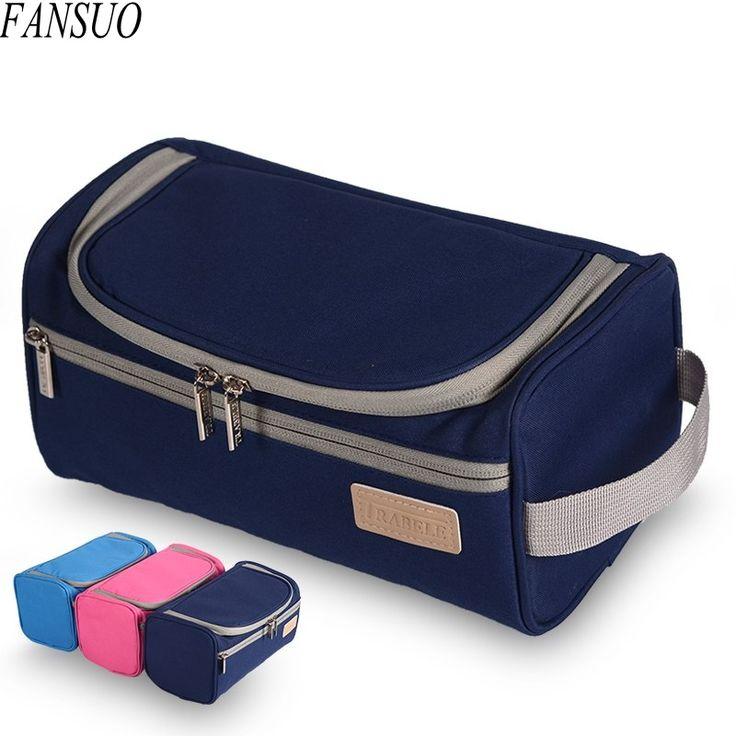 Men's High Quality Waterproof Travel Organizer Toiletry Make Up Bag Women Large Necessaries Make Up Beauty Zipper Cosmetic Bag