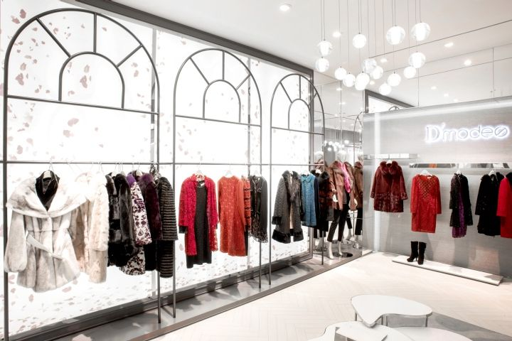D'modes Store by Area-17, Shenyang – China » Retail Design Blog