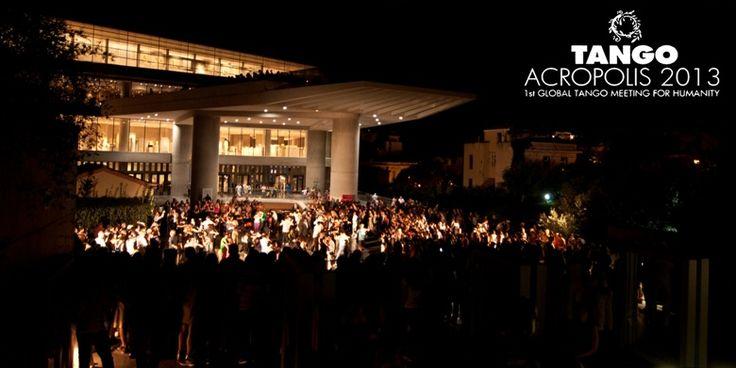 VISIT GREECE  Official Opening Tango Acropolis 2013 #Athens #Tango #Greece