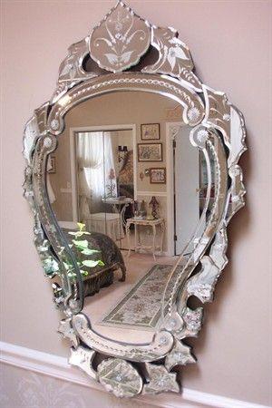 Victorian Mirror ~Paris Apt Style