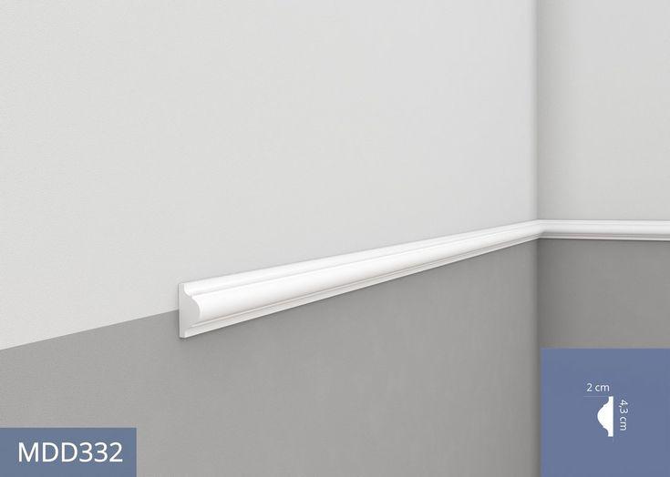MDD332 (AD332) listwa ścienna, profilowa - sztukateria Mardom Decor