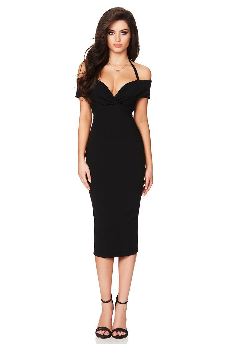 Nookie - Athena Off Shoulder Midi Dress