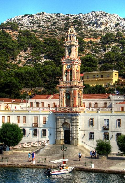 Monastery of Panormitis, Symi Island #Greece