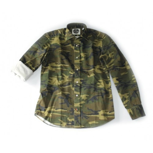 Camouflage printed twill cotton - Collection