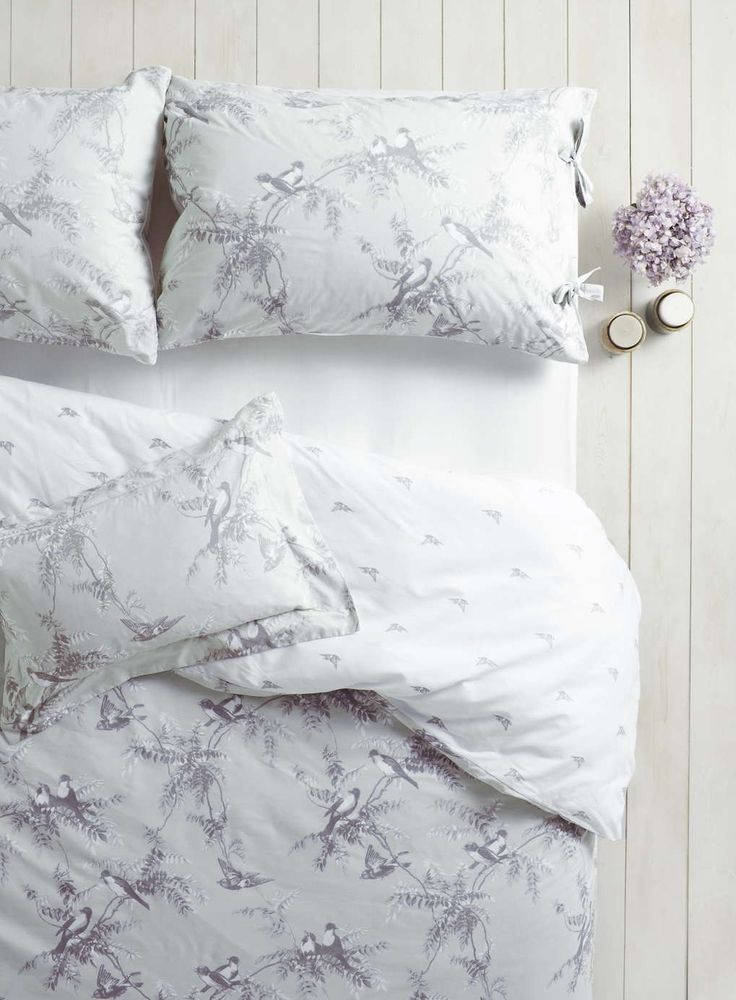 Holly Willoughby mint Fauna bedding - BHS