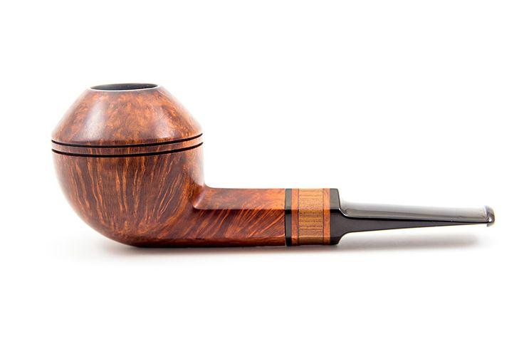 Купить датскую курительную трубку ручной работы Ph. Vigen Smooth Bulldog в интернет-магазине CoffeeCaramel.Ru