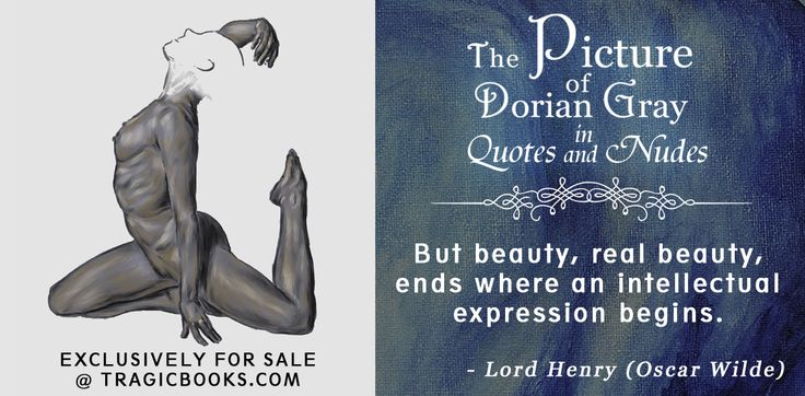 The Picture of Dorian Gray in Quotes and Nudes - Release date 24th October 2016, limited editions, exclusively for sale at TragicBooks.com