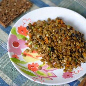 Чечевица с шампиньонами рецепт – вегетарианская еда: основные блюда. «Афиша-Еда»