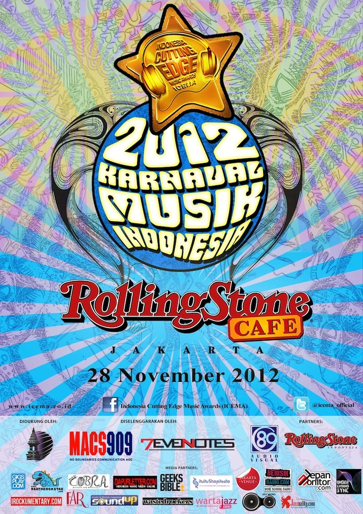 Indonesia Cutting Edge Music Awards (ICEMA) 2012