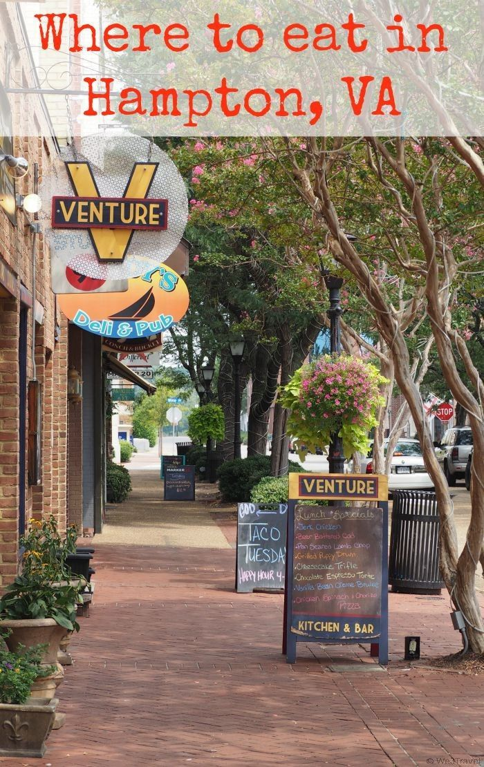 Where to eat in Hampton and Newport News VA