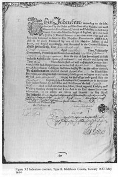 Slavery was officially established in Virginia in 1654, when Anthony Johnson, a black man, convinced a court that his servant (also black) John Casor was his for life. Johnson himself had been brought to Virginia some years earlier as an indentured servant (a person who must work to repay a debt, or on contract for so many years in exchange for food and shelter