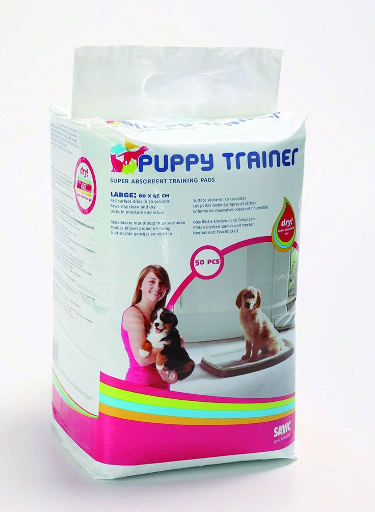 Savic Puppy Trainer Refill 50 Pads Large 60x45cm >>> Click on the image for additional details.