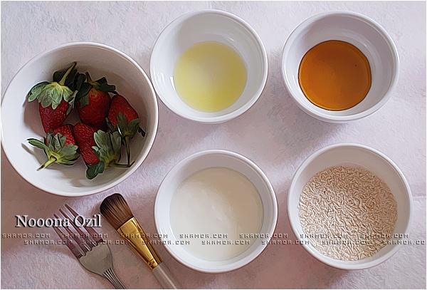 مُمَيز Strawberry Mask ,, قناع الفراولة لنضآرة آلبشره ~ - منتديات شمواه|SHAMOA FORUM ®